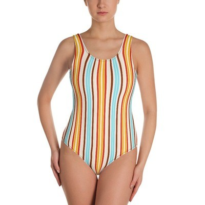 Candy Stripes - One-Piece Swimsuit