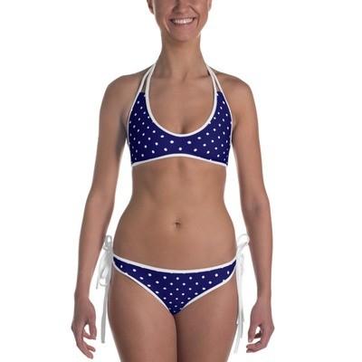 Blue Polka Dot - Bikini