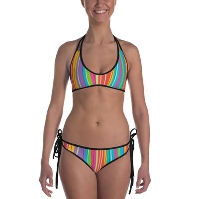 Striped - Bikini