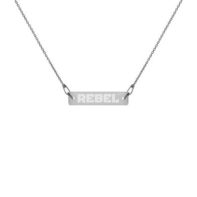 Rebel - Engraved Chain Necklace
