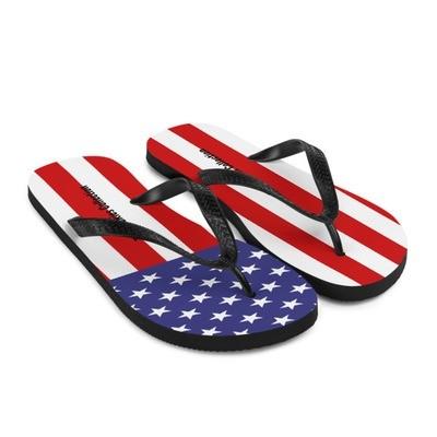 US Flag - Flip-Flops