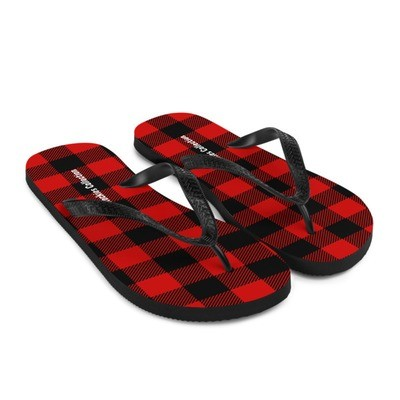 Buffalo Plaid - Flip-Flops