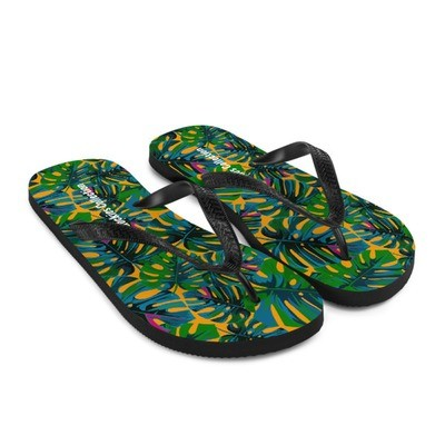 Tropical Orange - Flip-Flops