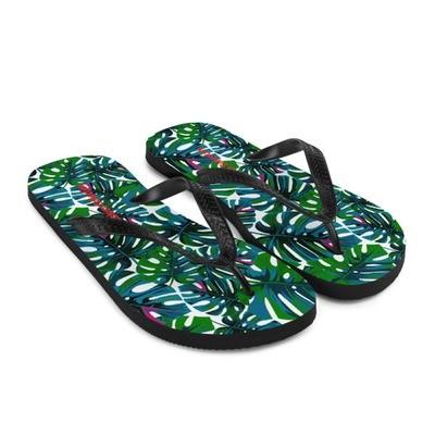 Tropical White - Flip-Flops