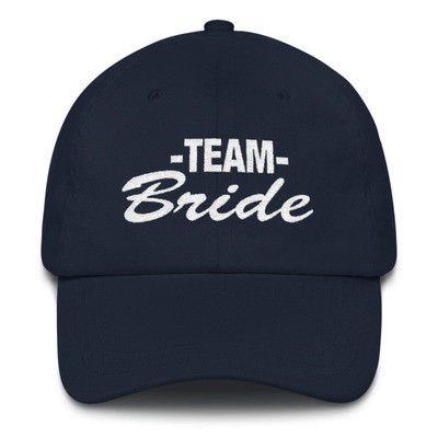 Team Bride - Baseball / Dad hat (Multi colors)