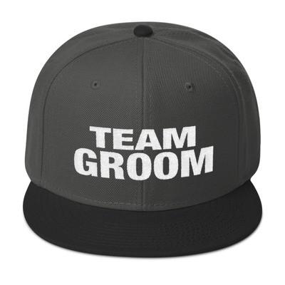 Team Groom - Snapback Hat (Multi Colors)