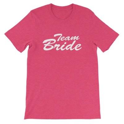 Team Bride - T-Shirt (Multi Colors)