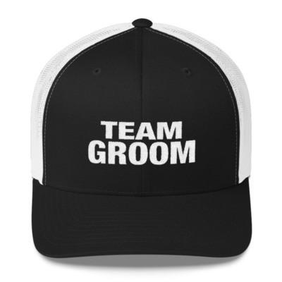 Team Groom - Trucker Cap (Multi Colors)