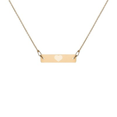 Heart - Engraved Chain Necklace