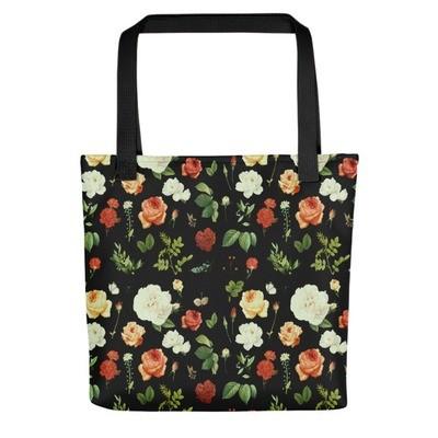 Floral Print - Tote bag