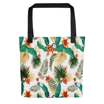 Tropical Floral - Tote bag