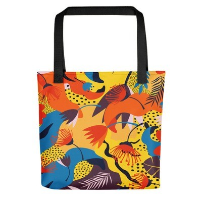 Jungle Flowers - Tote bag