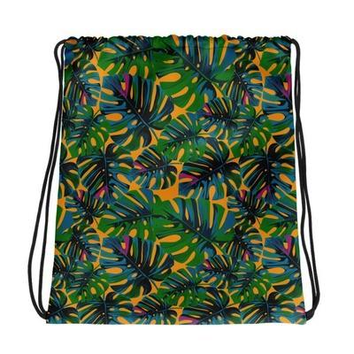 Tropical Orange - Drawstring bag