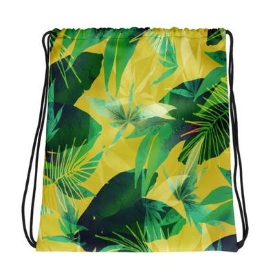 Tropical Summer - Drawstring bag