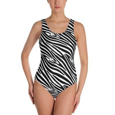Zebra - One-Piece Swimsuit