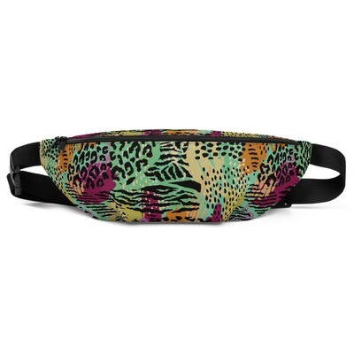 Animal Collage - Fanny Pack