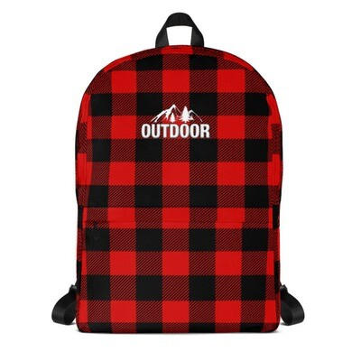 Fennel / Buffalo Plaid - Backpack