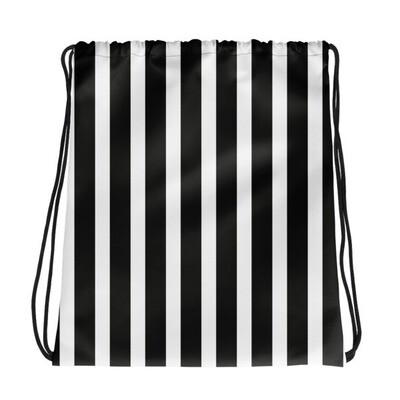 Black & White - Drawstring bag