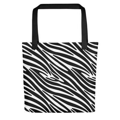 Zebra Print - Tote bag