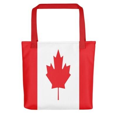 Canadian Flag - Tote bag