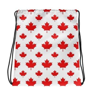 Maple Leaf - Drawstring bag