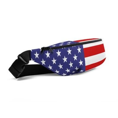 USA Flag - Fanny Pack