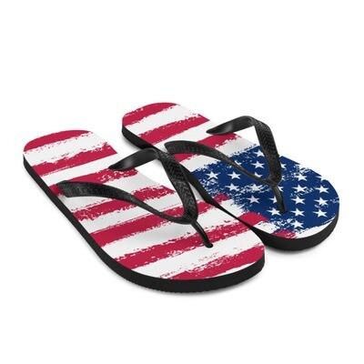 USA Flag - Flip-Flops