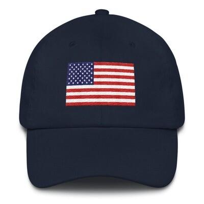 USA Flag - Baseball / Dad hat (Multi Colors)