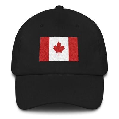 Canada Flag - Baseball / Dad hat (Multi Colors)