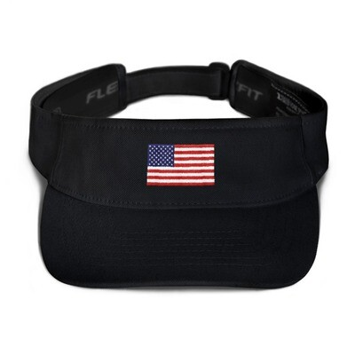USA Flag - Visor (Multi Colors)