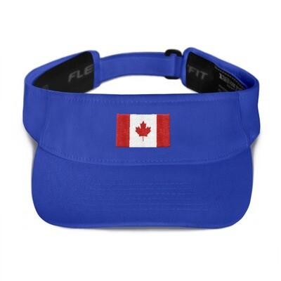 Canada Flag - Visor (Multi Colors)
