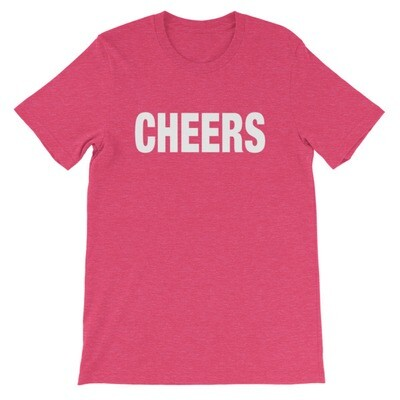 CHEERS - T-Shirt (Multi Colors)