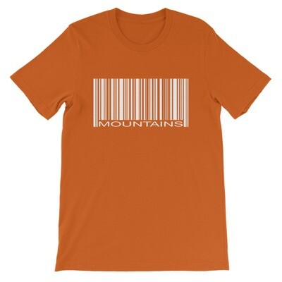Barcode Mountains - T-Shirt (Multi Colors)