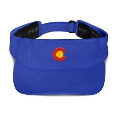 Colorado Flag USA - Visor (Multi Colors) The Rockies American Rocky Mountains