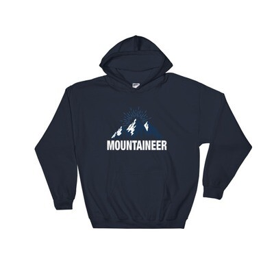 Mountaineer - Hooded Sweatshirt (Multi Colors) The Rocky Mountains Canadian American Rockies