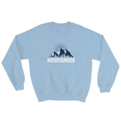 Mountaineer - Sweatshirt (Multi Colors) The Rocky Mountains Canadian American Rockies