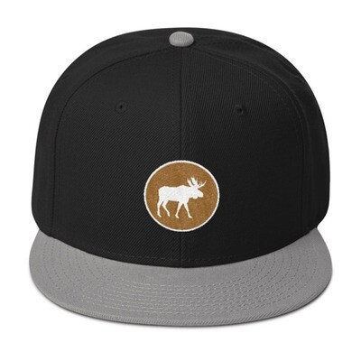 Moose Crest - Snapback Hat (Multi Colors) The Rocky Mountains Canadian American Rockies