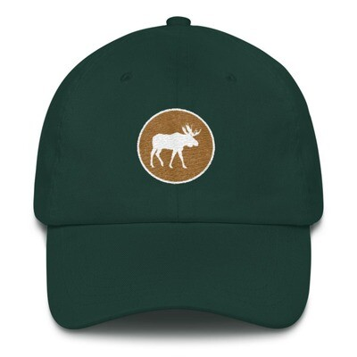 Moose Crest - Baseball / Dad hat (Multi Colors)The Rocky Mountains Canadian American Rockies