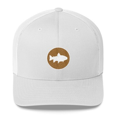 Fish Crest - Trucker Cap (Multi Colors) The Rocky Mountains Canadian American Rockies