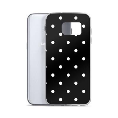 Black Polka Dot - Samsung Case
