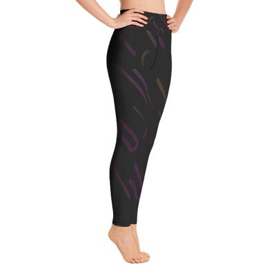 Colorful Gradient - High Waisted Leggings