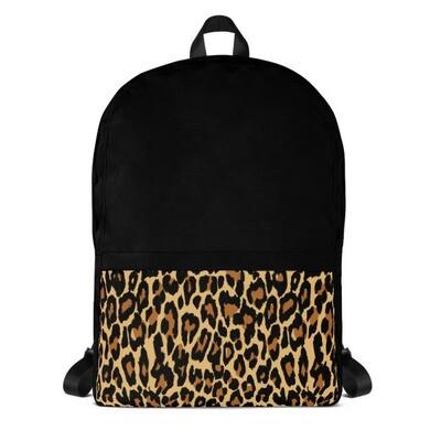Leopard Pocket - Backpack