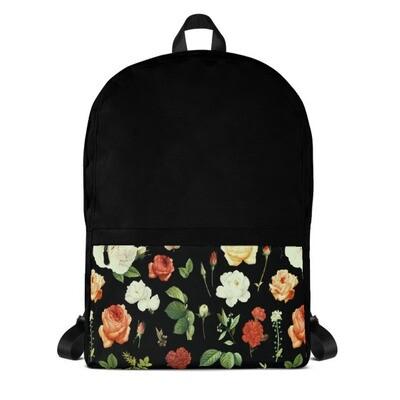 Floral Pocket - Backpack