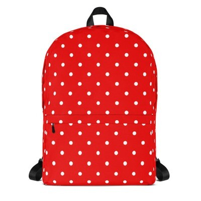 Red Polka Dot - Backpack