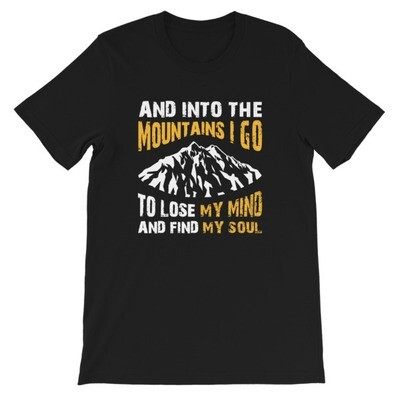 Into The Mountains - T-Shirt (Multi Colors)