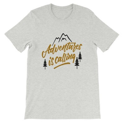 Adventures is Calling - T-Shirt (Multi Colors)
