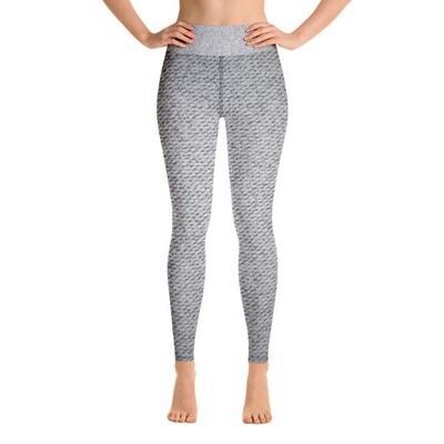 Grey Denim - High Waisted Leggings