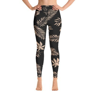 Luxury Floral - High Waisted Leggings