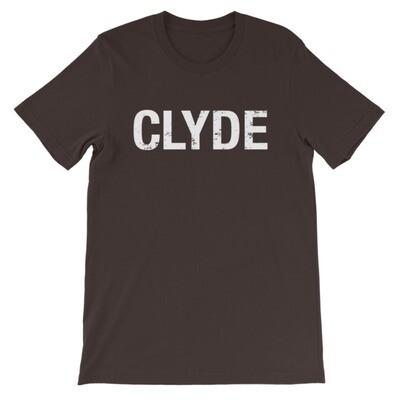 CLYDE (Bonnie & Clyde) - T-Shirt (Multi Colors)