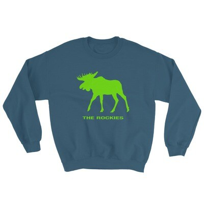 The Rockies Moose - Sweatshirt (Multi Colors) Canadian American Rocky Mountains